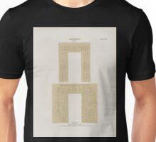 0042 Aethiopen Dynastie XXV 2 Theben Thebes Karnak Kammer am See a Aussenseite b Innere Thürseite Jetzt im K Museum zu Berlin Unisex T-Shirt