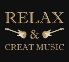 Relax & creat music One Piece - Short Sleeve