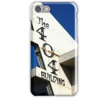 404: Building Not Found iPhone Case/Skin