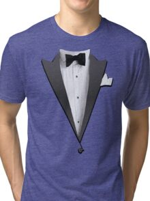 Tuxedo Jacket Costume T-shirt Tri-blend T-Shirt