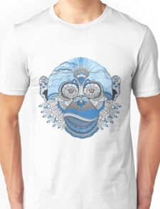Colorful Monkey Unisex T-Shirt