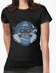 Colorful Monkey Womens Fitted T-Shirt
