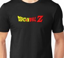 Dragon Ball Z Logo Title Design Unisex T-Shirt