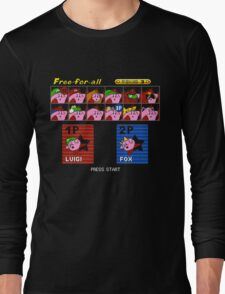 Super Kirby Brothers Long Sleeve T-Shirt