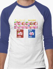 Super Kirby Brothers Men's Baseball ¾ T-Shirt