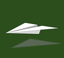 Paper Airplane 7 by YoPedro