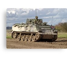 A British Army FV432 Armoured Personnel Carrier Canvas Print