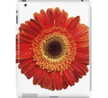 Abstract flower background iPad Case/Skin
