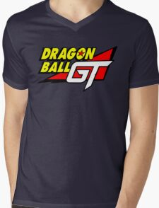 Dragon Ball GT Logo Title Design Mens V-Neck T-Shirt