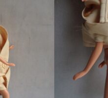 Barbie Dolls. Fashion Illustration ® Sticker