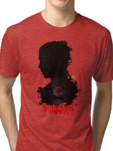 Stranger Things Art - R U N Tri-blend T-Shirt