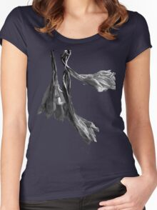 Dried Blooms Women's Fitted Scoop T-Shirt