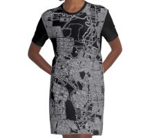 town planning  Graphic T-Shirt Dress
