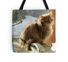 Call Waiting Tote Bag