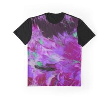 Purple Feathers Graphic T-Shirt