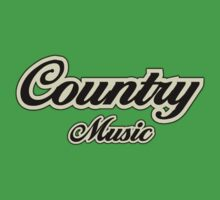 Vintage country music Kids Tee
