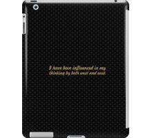 "I have been... ""Nelson Mandela"" Inspirational Quote iPad Case/Skin"