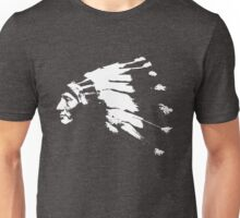 Whirling Horse Sioux Indian Chief Unisex T-Shirt