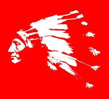 Whirling Horse Sioux Indian Chief by monsterplanet