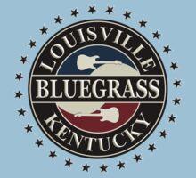 Louisiana bluegrass kentucky Kids Tee