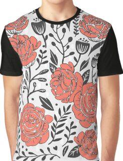 Orange Garden Graphic T-Shirt