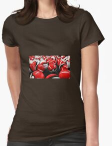 Pokeball GO! Womens Fitted T-Shirt