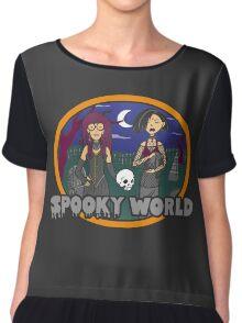 Spooky World Chiffon Top