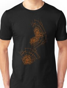 Halloween spider web Unisex T-Shirt