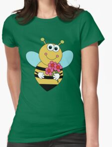 Bumble Bee Kids Wear Womens Fitted T-Shirt