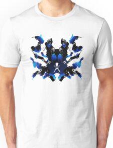 Rorschach Blue Unisex T-Shirt