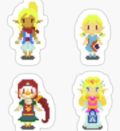 Legend of Zelda - Windwaker Female Set 1 Sticker