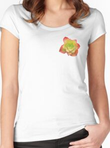 SUCCULENT SOPHISTICATION Women's Fitted Scoop T-Shirt