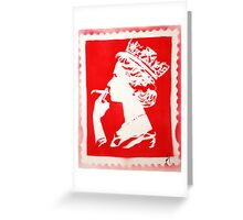 SPLIFF QUEEN (RED) Greeting Card
