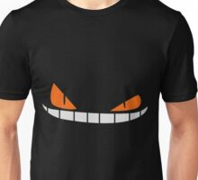 Scary Smiling face Cap (Red|Black) Unisex T-Shirt