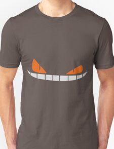 Scary Smiling face Cap (Red Black) Unisex T-Shirt