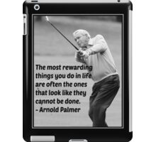 Golf iPad Case/Skin
