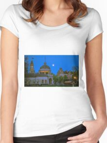 Four Icons of Bendigo in Springtime Women's Fitted Scoop T-Shirt