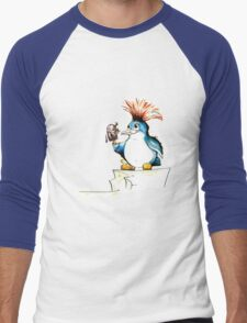 Penguin Punk Men's Baseball ¾ T-Shirt