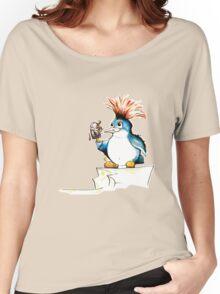 Penguin Punk Women's Relaxed Fit T-Shirt