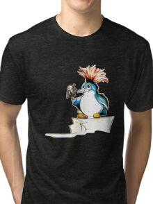 Penguin Punk Tri-blend T-Shirt