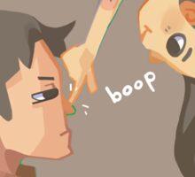Captain Boop Sticker
