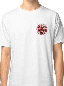 Christian round sticker Classic T-Shirt