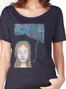Sound Cloud Women's Relaxed Fit T-Shirt