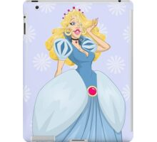 Princess Cinderella In Blue Dress iPad Case/Skin