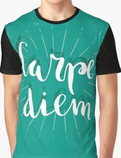 Carpe Diem Graphic T-Shirt