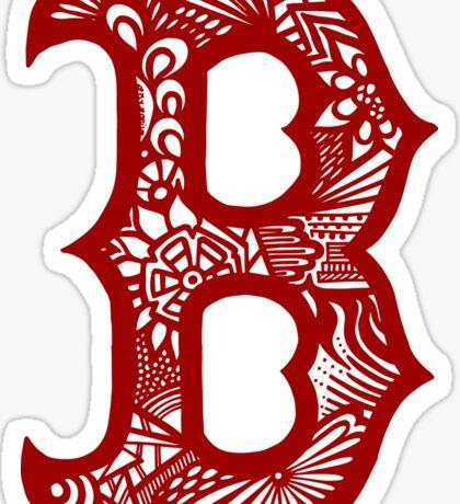 Boston_Red Sticker