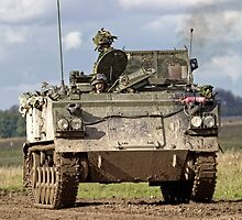 A British Army FV432 Armoured Personnel Carrier by Andrew Harker
