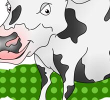 Cow Casting a Green Shadow Sticker