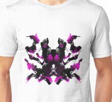 Rorschach Pink Unisex T-Shirt