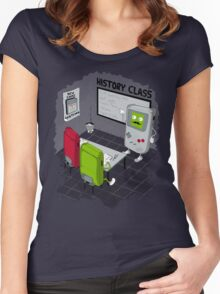 History Class Women's Fitted Scoop T-Shirt